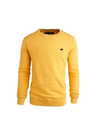 Bad Bear Erkek Sweatshirt Presage 200212012-Mus Sarı